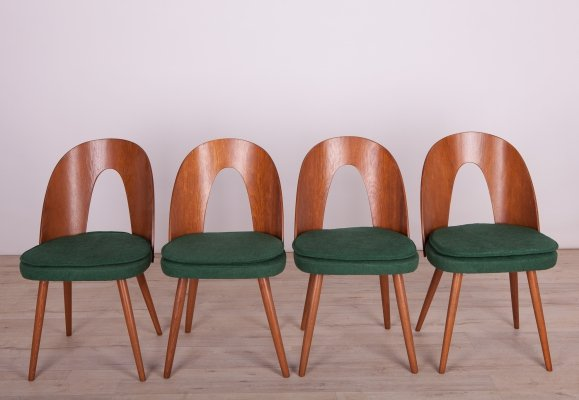 Set of 4 Dining Chairs by Antonín Šuman for Tatra, 1960s
