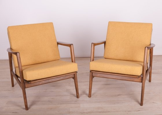 Pair of Armchairs 300-139 by Swarzędzka Factory, 1960s