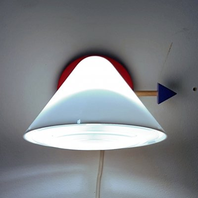 Memphis style wall lamp by Ikea, 1990s