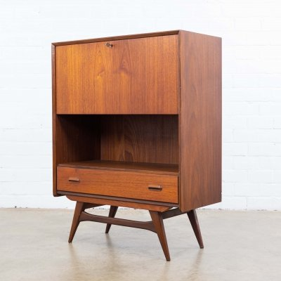 Writing desk cabinet by Louis van Teeffelen, 1960s