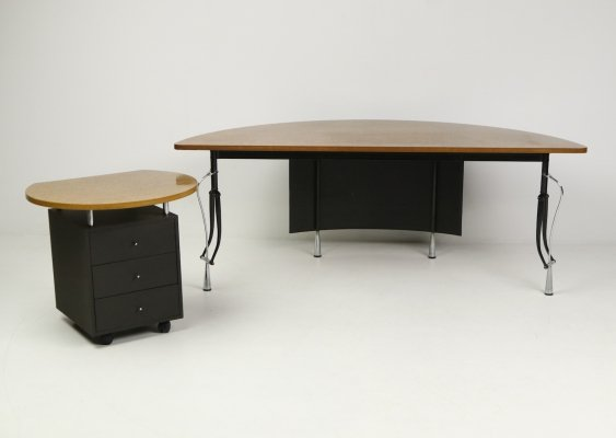 'La Vuelta' desk with a module by Perry King & Santiago Miranda for Akaba