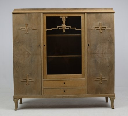 Art Deco wall cabinet, 1930s