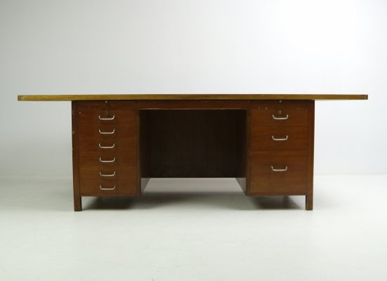 Huge executive desk used by General Major D.A. Wieth-Knudsen, 1960's
