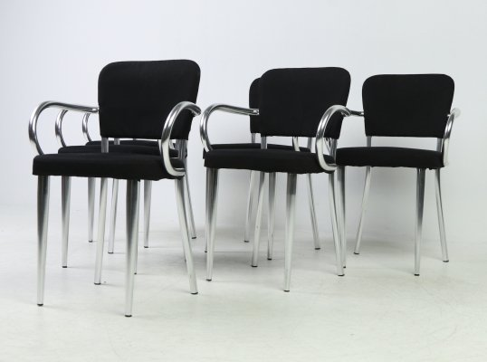 Set of 6 'Bacco' chairs by F. A. Porsche for Ycami, 1990s