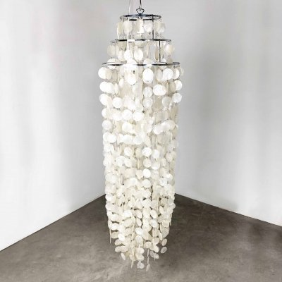Mother-of-Pearl Hanging Light, 1960s