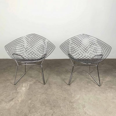Diamond Chairs by Harry Bertoia for Knoll, 1990s
