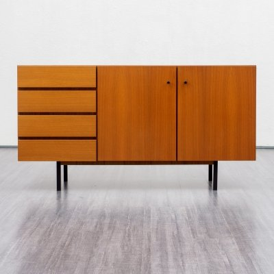 Mid Century Small Walnut Sideboard, 1960s