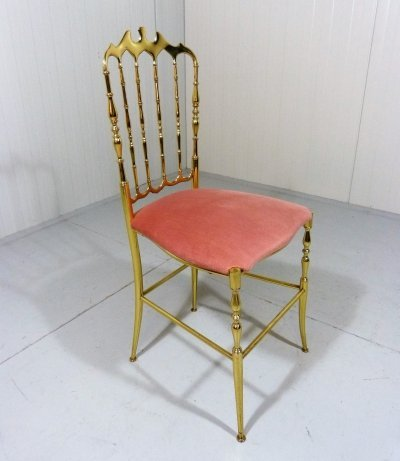 Brass Chiavari Chair, 1970s