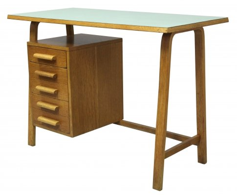 Mid Century Child's Desk with a set of drawers