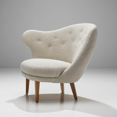 Arne Norell 'Thumb' Chair for Gösta Westerberg, Sweden 1952