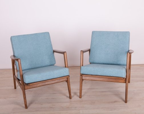 Pair of Armchairs 300-139 by Swarzędzka Furniture Factory, 1960s