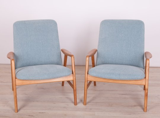 Pair of Danish Armchairs by Alf Svensson for Fritz Hansen, 1960s