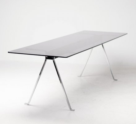 Huge 'Frate' dining table by Enzo Mari for Driade, 1970s
