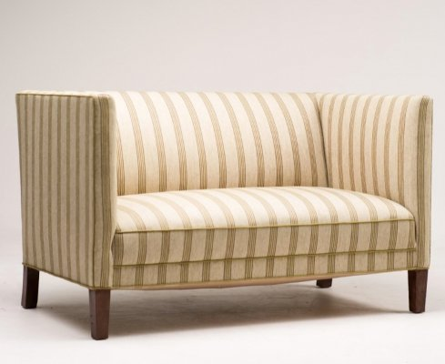 Wool sofa by Fritz Hansen, 1940's