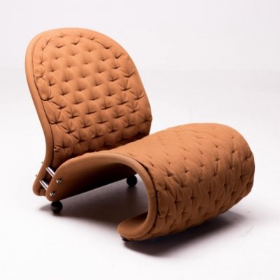 'G de Luxe' System 1-2-3 easy chair by Verner Panton for Fritz Hansen