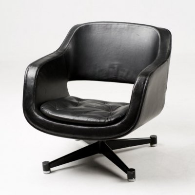 Swivel club armchair by Eero Aarnio for Asko, 1962
