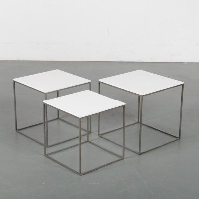 Poul Kjaerholm PK71 Nesting Tables by E. Kold Christensen, 1960