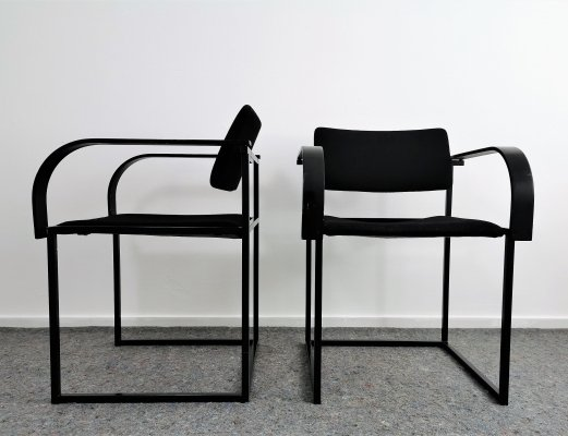 Pair of Post Modern 'FM 80' Arm Chairs by Pierre Mazairac & Karel Boonzaaijer for Pastoe, 1980s
