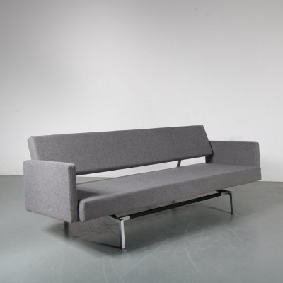 Martin Visser Sleeping Sofa for 't Spectrum, Netherlands 1960