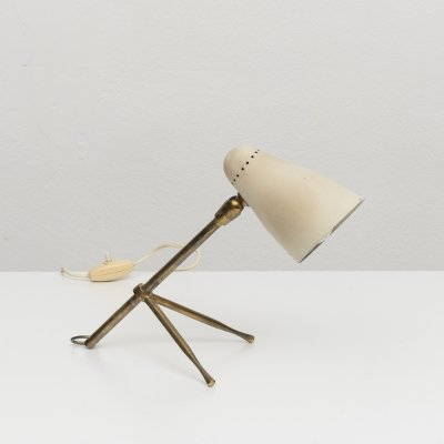 Giuseppe Ostuni 'Ochetta' Adjustable Table or Wall Light for O-Luce, 1950s