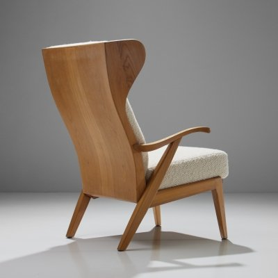 'Wingback' Chair by Danish Cabinetmaker Søren Willadsen, Denmark 1960s