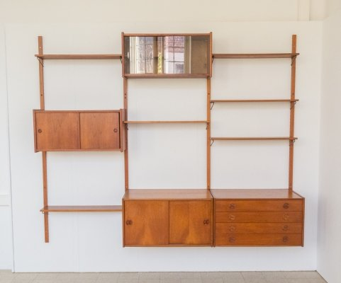 Wall unit by Royal Board, Sweden 1960s