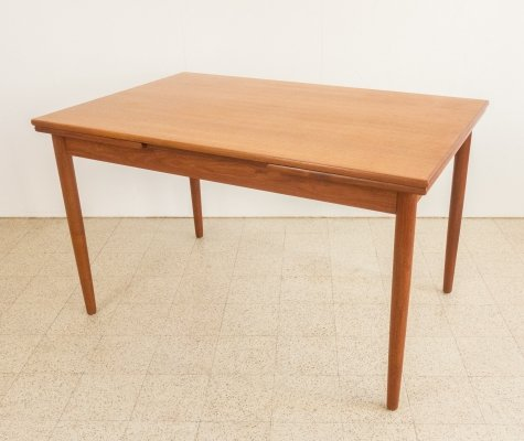 Dining table in teak, 1960s