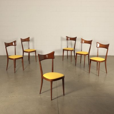 Six 1950s Vintage Chairs