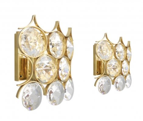 Pair of Palwa Wall Sconces, 1960s