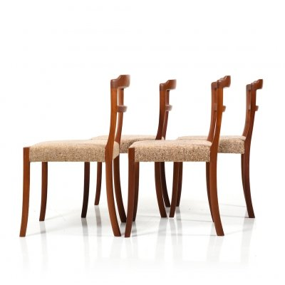 Set of 4 Dining Chairs in Teak by Ole Wanscher for Cado