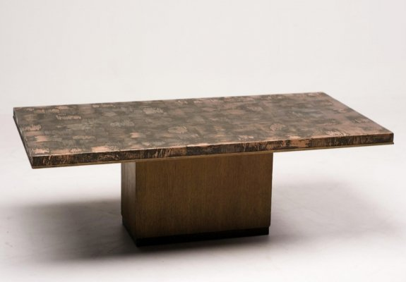 Coffee table by Illum Wikkelso, 1960s
