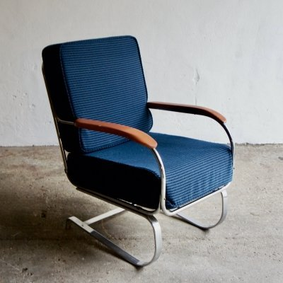 Kem Webber Springer Chair for Lloyd Manufacturing, 1930's