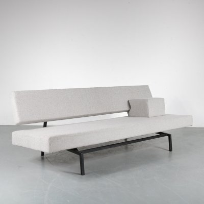 1950s Sleeping sofa with cushion by Martin Visser for Spectrum