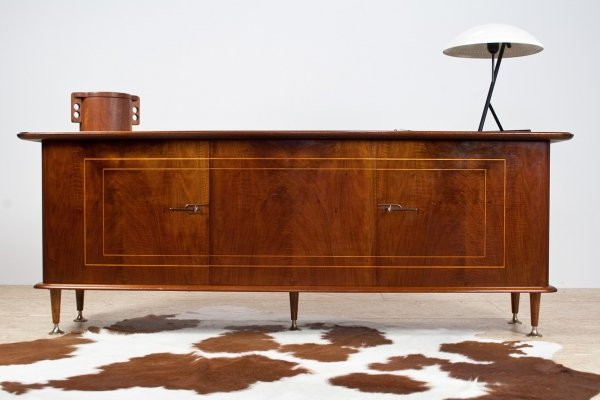 Mahogany art deco credenza by Abraham Patijn for Zijlstra, 1950s
