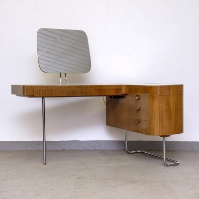 Rare 'Serie 420' Dressing Table by Hans Hartl for Deutsche Werkstätten, 1950s