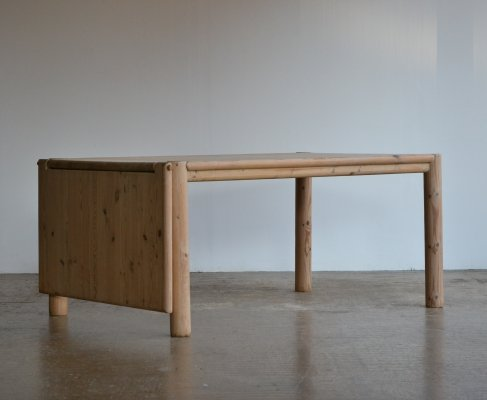 Rainer Daumiller pine extendable dining table for Hirtshals Savvaerk