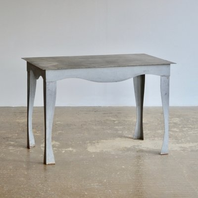 Postmodern Wavy Leg Dining Table