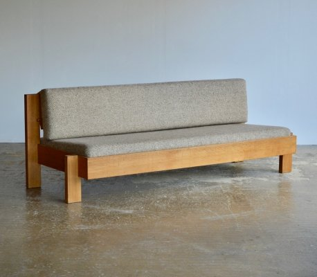 French oak 1960's sofa