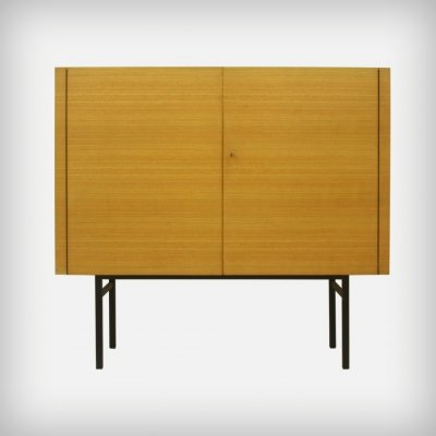 German Ash Wood Cupboard by Helmut Magg for DeWe Deutsche Werkstätten, 1950s