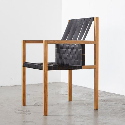 Gijs Bakker Seatbelt Armchair for Castelijn, 1978