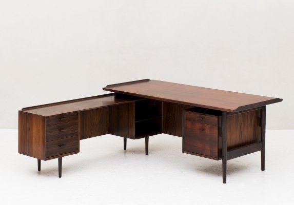 Executive writing desk by Arne Vodder for Sibast, Denmark 1960