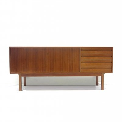 Vintage sideboard with drawers & two doors, 1960s