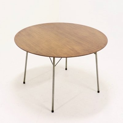 Model 3600 Dining Table by Arne Jacobsen for Fritz Hansen, 1950s