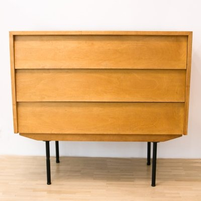 Model 130 Chest with desk compartment by Florence Knoll, 1950s