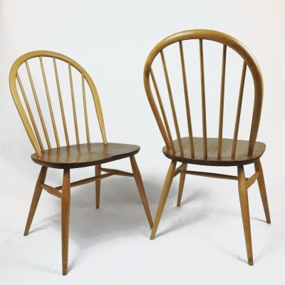 Set of 4 Windsor Dining Chairs by Lucian Ercolani for Ercol, 1970s