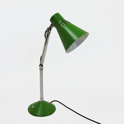 Articulated Green Desk Lamp by Pifco, 1950s