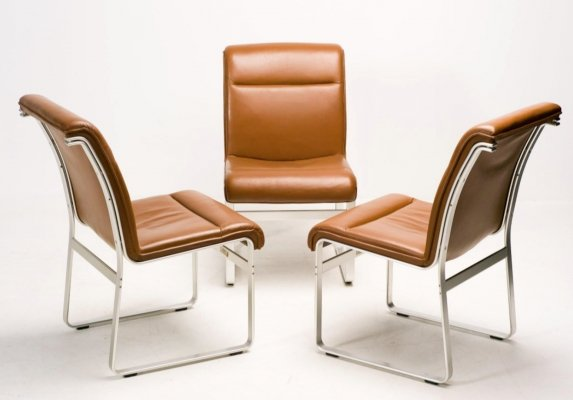 3 chairs by Karl Erik Ekselius for J.O. Carlsson, 1960s