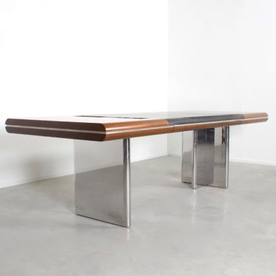 Von Klier Desk by Hans von Klier for Skipper Italia, 1970s