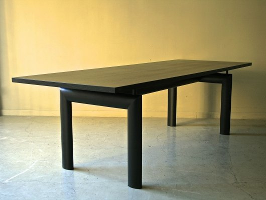 LC6 dining table by Le Corbusier & Charlotte Perriand for Cassina, 1970s