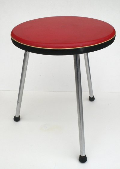 Kitchen Tripod Stool by Tacke Hocker, Germany 1950s